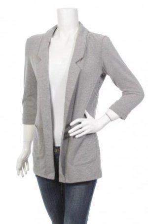 Business Long Open Cardigan Grey S