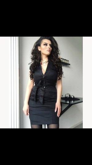 (business) minikleid in schwarz