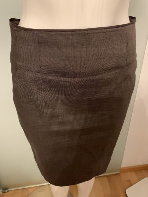 Banana Republic High Waist Skirt grey brown-black