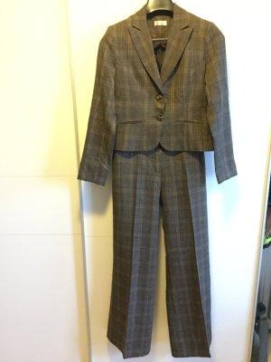 Business Schick: Kurz-Blazer in Grau-Beige - Anzughose ist separat erhältlich