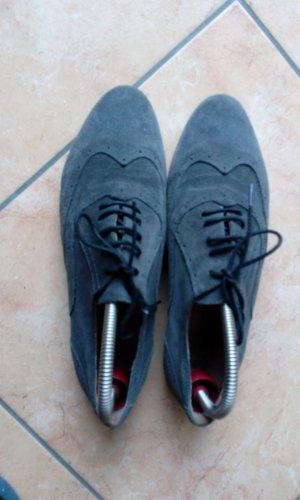 Chaussure de travail gris-gris foncé