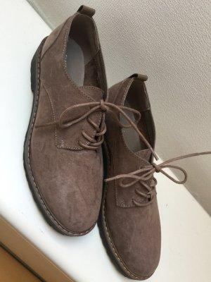 Business Schuhe braun/grau