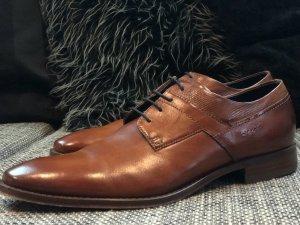 Business-Schuhe Gr. 43 Braun Cognac NEU