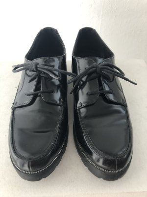 Street Super Shoes Wingtip Shoes black