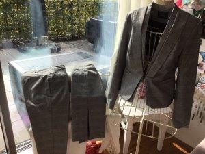 Orsay Traje de pantalón negro-blanco