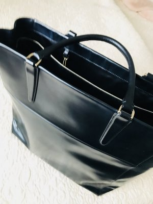 Coach Business Bag black-gold-colored