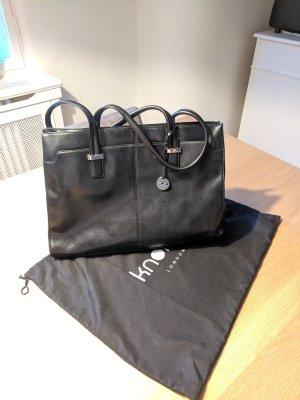 Business Tasche KNOMO - schwarz Leder