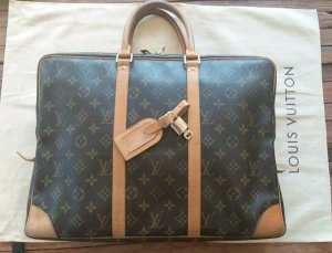 Business-Tasche Louis Vuitton Porte-Documents voyage, monogram canvas