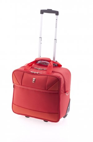 Laptop bag red polyester