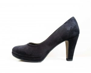 Pumps black leather