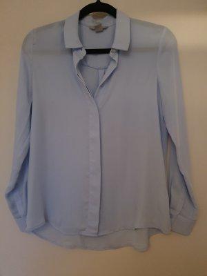H&M Transparent Blouse azure
