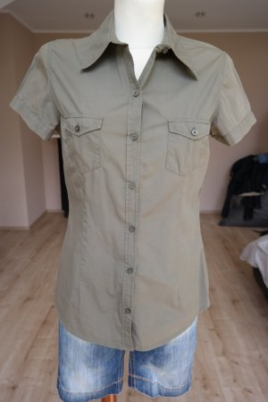 Businessbluse in khaki