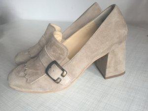 Paul Green Zapatos formales beige Gamuza