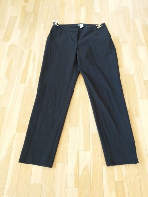 H&M 7/8 Length Trousers black-gold-colored