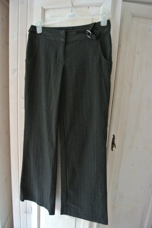 Awear Suit Trouser grey brown-anthracite cotton