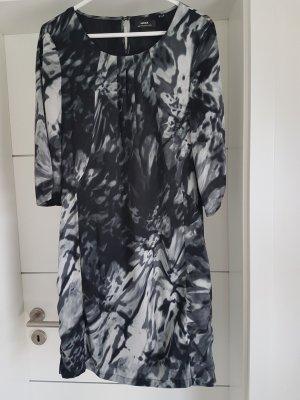 Businesskleid von Mexx Gr. 36 schwarz weiß grau