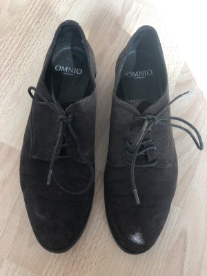 Businessschuhe Wildleder