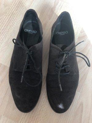 Zapatos Budapest marrón oscuro