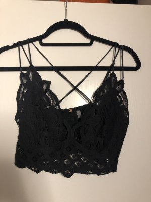 Free People Bustier Top black