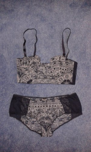 Bustier-BH + Panty Set