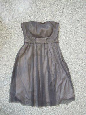 Bustier-Kleid, Grau-Blau, Esprit, NEU, Gr. 34