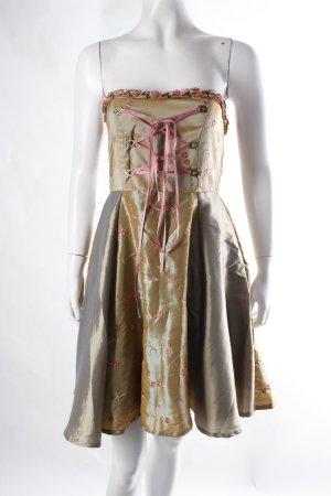 Bustier-Kleid im Trachtenlook