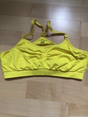 H&M Sporttop geel