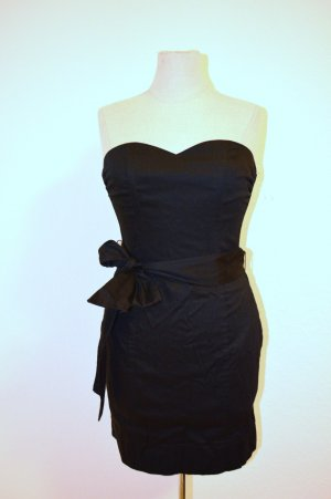 Bustierkleid Bandeau Black Elegant Cotton Gr. 34 Neu