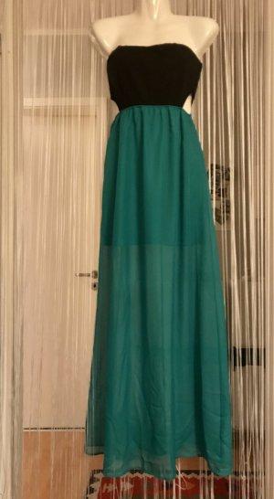 Tezenis Vestido bustier azul cadete Algodón