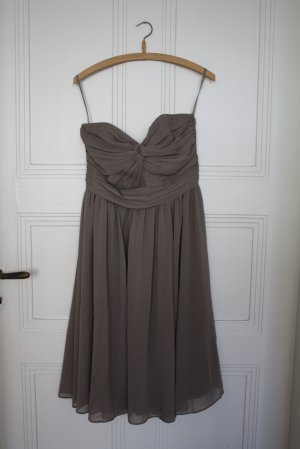 H&M Robe bustier chameau polyester