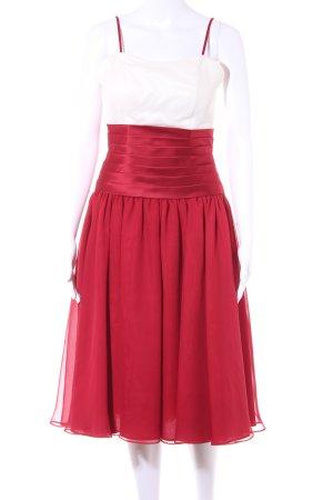 Vestido bustier multicolor elegante