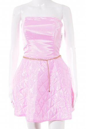 Bustier Dress pink party style