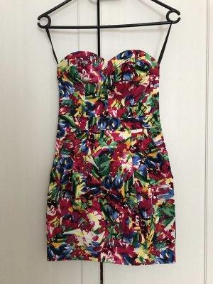 H&M Bustier Dress multicolored