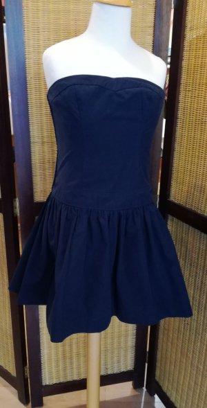 Hollister Bustier Dress dark blue
