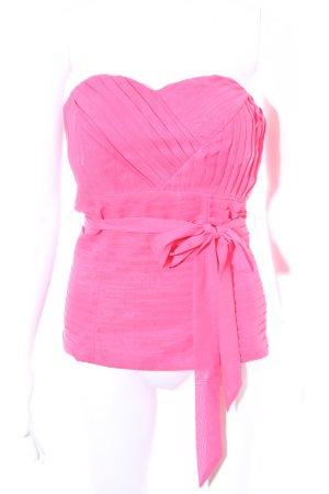 Bustiertop pink extravaganter Stil