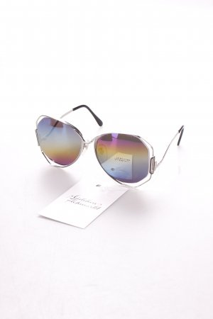 Butterfly Glasses multicolored vintage look