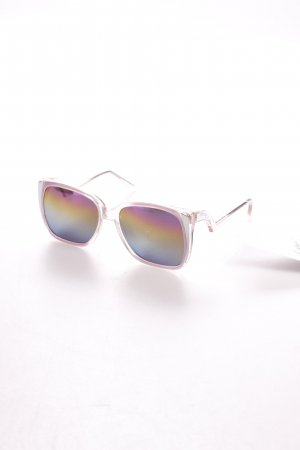 Butterfly Glasses pink-silver-colored vintage look
