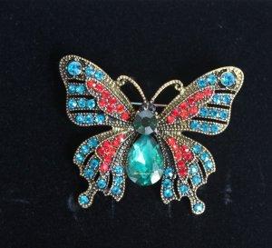 Butterfly Brosche Schmetterling