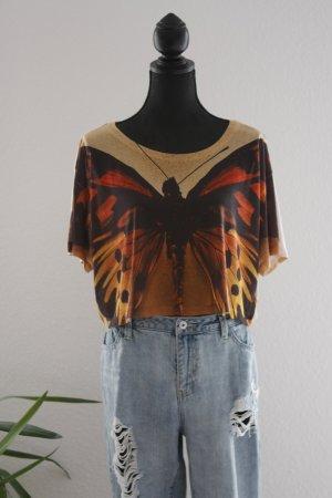 Butterfly Print-Shirt