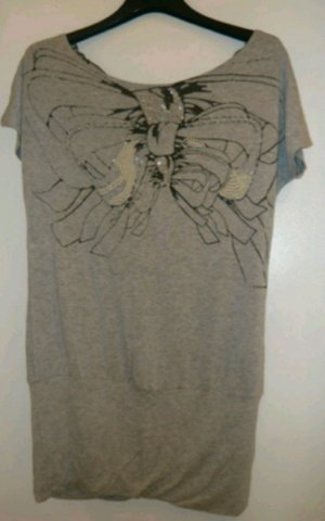 Butterfly Tshirt - Grau - Woman