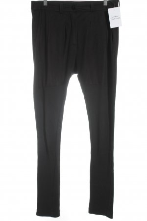 butterflysoulfire Stoffen broek zwart simpele stijl