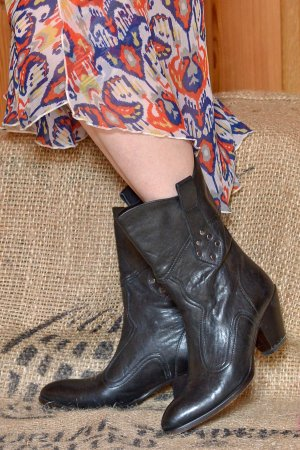 Buttero High Boots multicolored leather