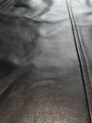 Zero Leren rok zwart