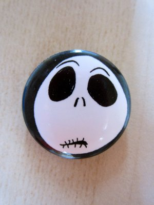 "Button ""Nightmare before Christmas"""