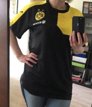 Puma Sports Shirt black-yellow