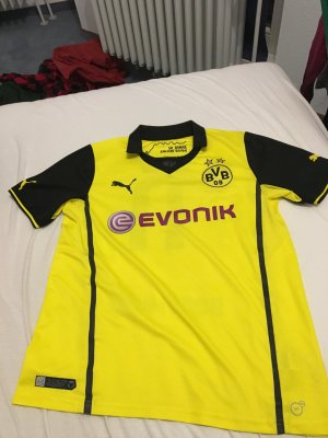 Puma Sportshirt geel-zwart