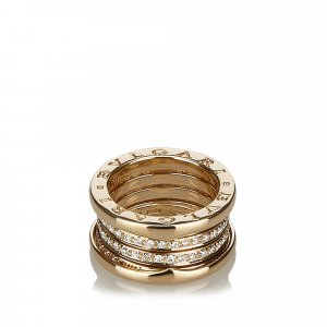 Bvlgari B.zero1 Two Band Diamond Ring
