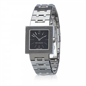 Bulgari Watch silver-colored stainless steel