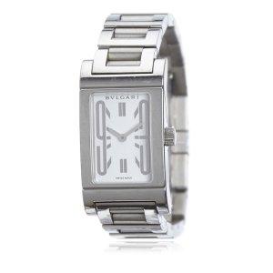 d84862d98e959 Bulgari Reloj color plata acero inoxidable