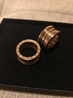 Ring rose-gold-coloured
